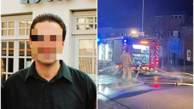 """Restaurantuitbater brengt nacht in de cel door na tweede brand in week tijd: """"Brandstichting? Hij was optimistisch en schulden waren er niet"""""""