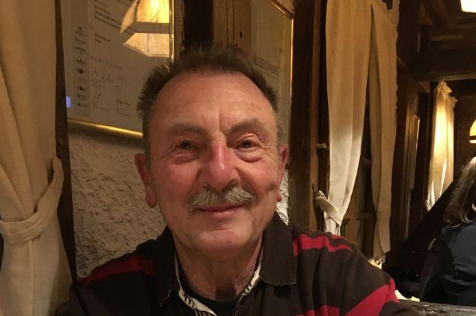 Wielertoerist André Van Keirsbulck (74) overleed op zijn fiets.