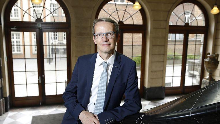 Luc Sels, de nieuwe rector van de KU Leuven. Beeld belga