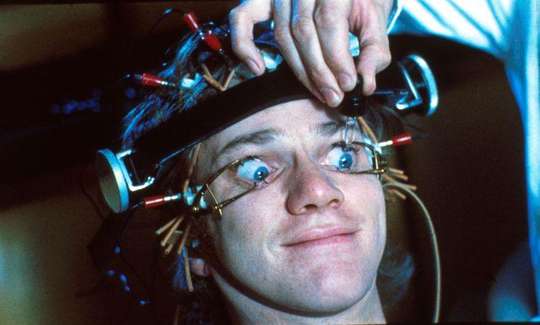 De Britse film Clockwork Orange. Beeld Photo 12