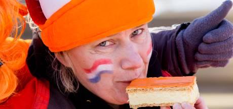 Dikke rijen bij de bakker: we verorberen vandaag miljoenen oranje tompouces