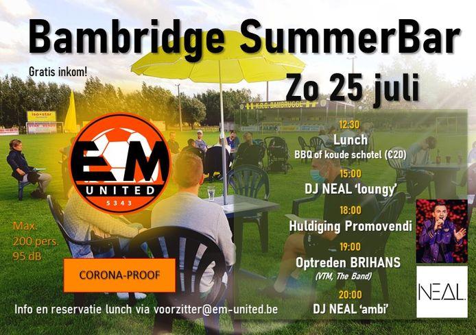 Bambridge SummerBar EM United.