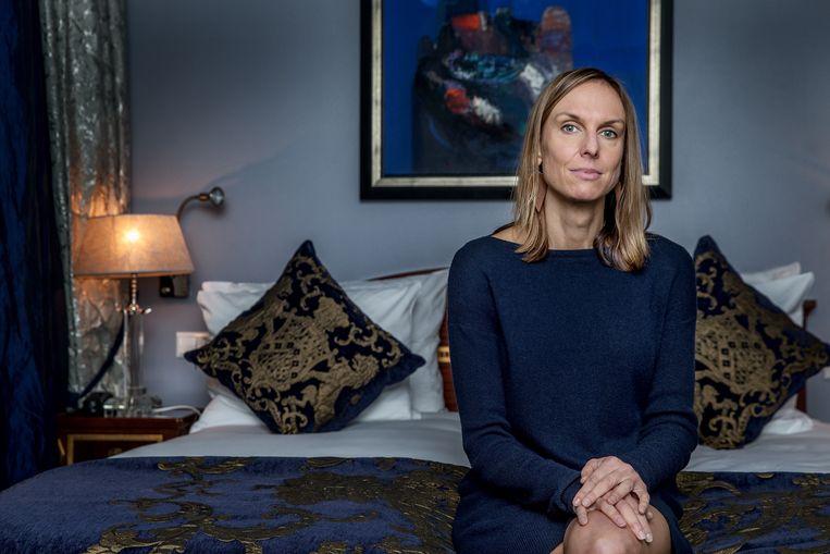 Hoogleraar sociale psychologie Sarah Hill pleit voor meer onderzoek naar de anticonceptiepil.  Beeld Jean-Pierre Jans