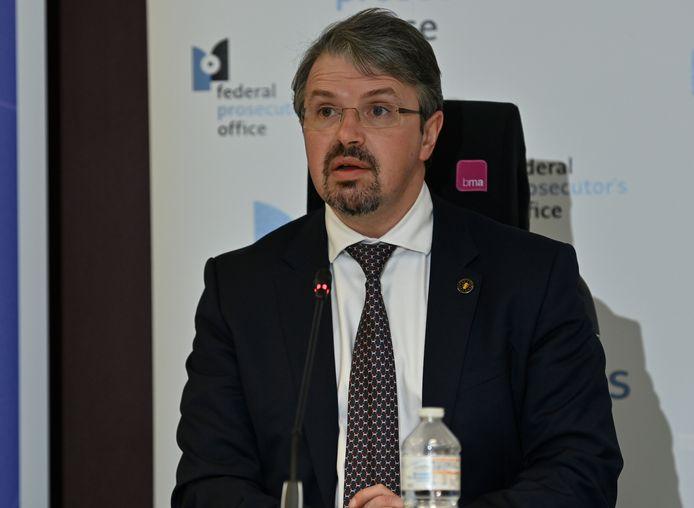 Federaal procureur Frédéric Van Leeuw.