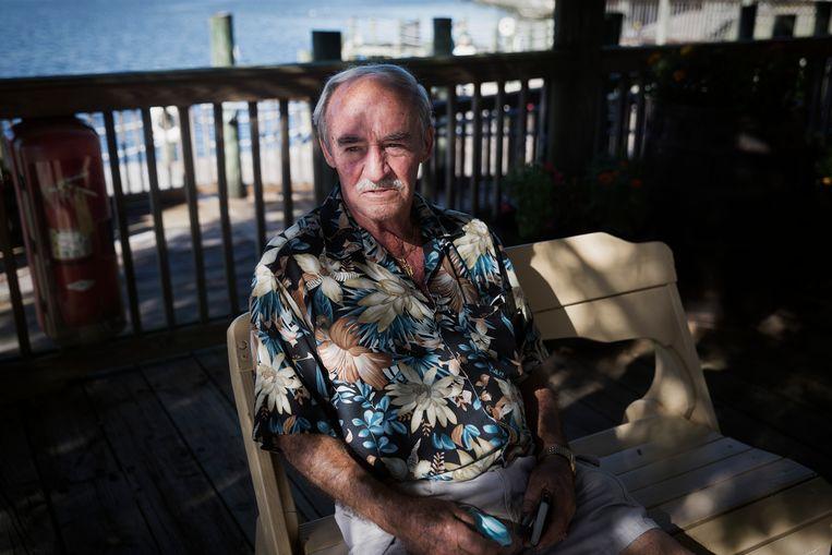 Ray Kissner voerde campagne voor Biden en is naar eigen zeggen met de dood bedreigd. 'Ik wil voorkomen dat mijn kleinkinderen gaan denken dat je met liegen verder komt.' Beeld Daniel Rosenthal / de Volkskrant