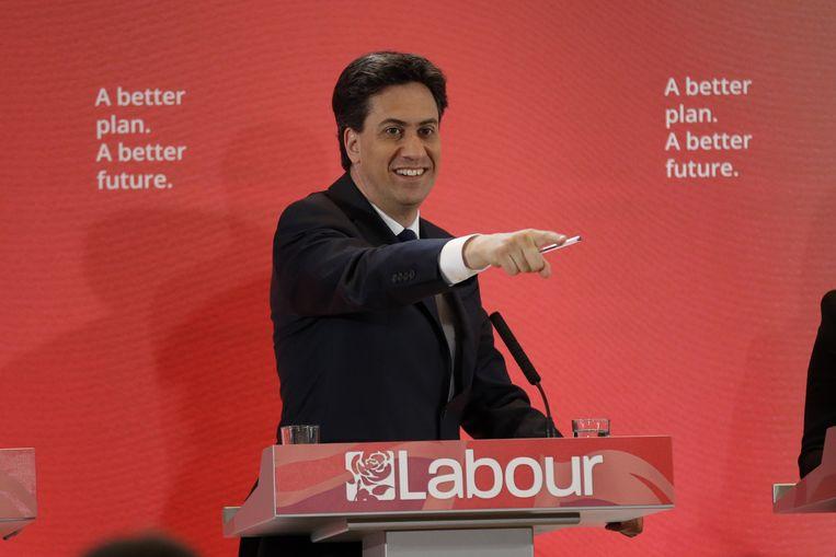 Ed Miliband, binnenkort in Downing Street 10? Beeld AP