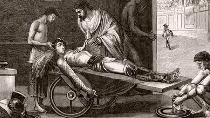 Vesalius was één van de grondleggers van de anatomie.