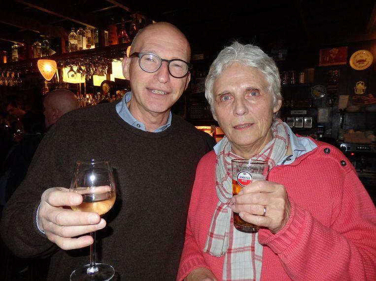 Leden Joep Blaas en Karen van Dijk Beeld Schuim
