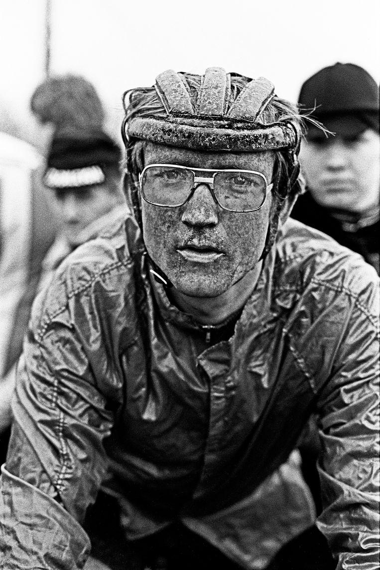 Wielrenner Jan Raas had volgens zijn biografie in de jaren 80 voortdurend ruzie met zijn ploegleider, die zich volgens zijn biograaf te veel zou bemoeien met zijn pupil. Beeld Hollandse Hoogte / Berry Stokvis