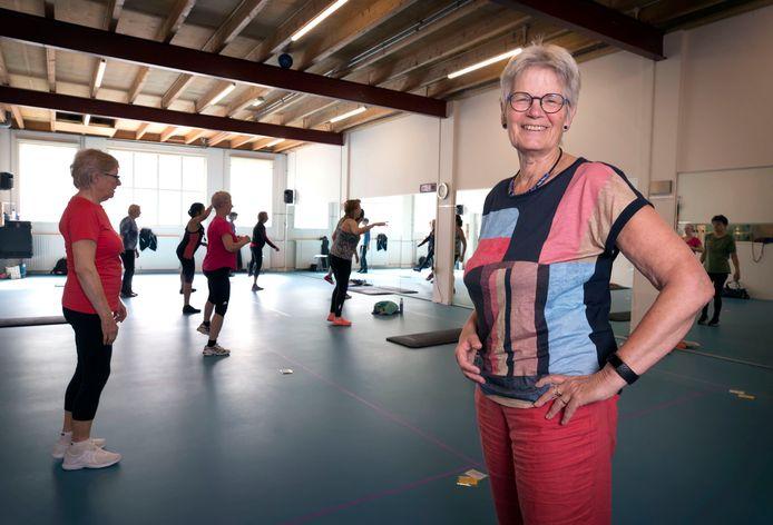 Kiek Boelaars richtte 33 jaar geleden Kwidam op. Boelaars sluit deze week de sportschool voor vrouwen.
