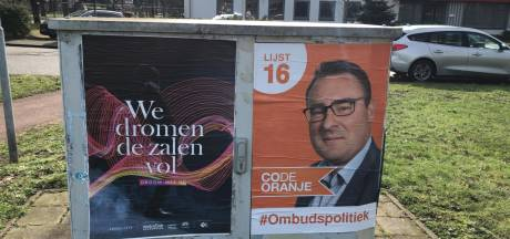 Ergernis over wildgeplakte verkiezingsposters in Etten-Leur: 'Dat was zo niet afgesproken'