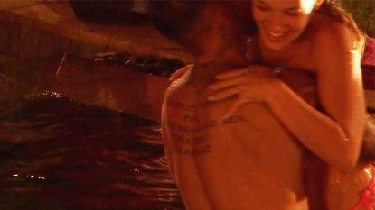 Dit zag je niet in 'Temptation': ook Fabrizio en Daniëlle troosten elkaar in het zwembad