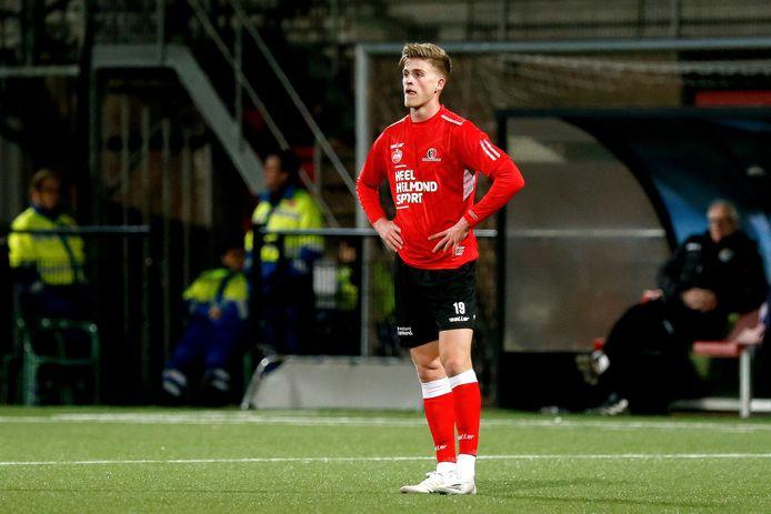 De lichaamstaal van Jelle Goselink spreekt boekdelen: Helmond Sport beleefde een afgrijselijke avond tegen NEC.