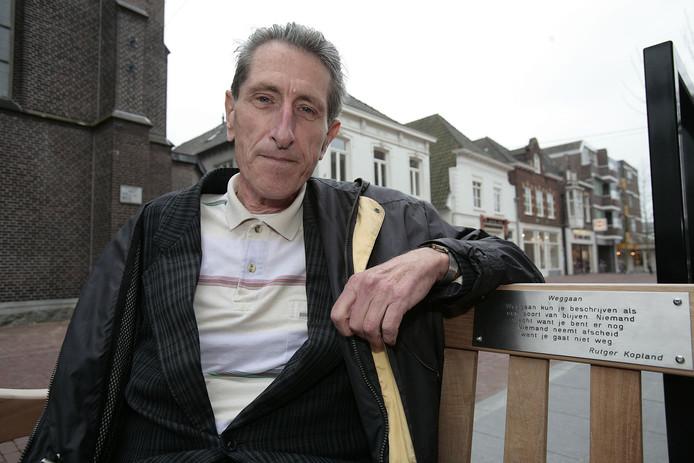 Toon Gruijters op een foto uit 2007 in Helmond, kort voordat hij terugkeerde naar Brazilië.