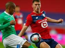 Lille speelt gelijk, maar Botman en teamgenoten gaan laatste speeldag in met punt voorsprong op PSG