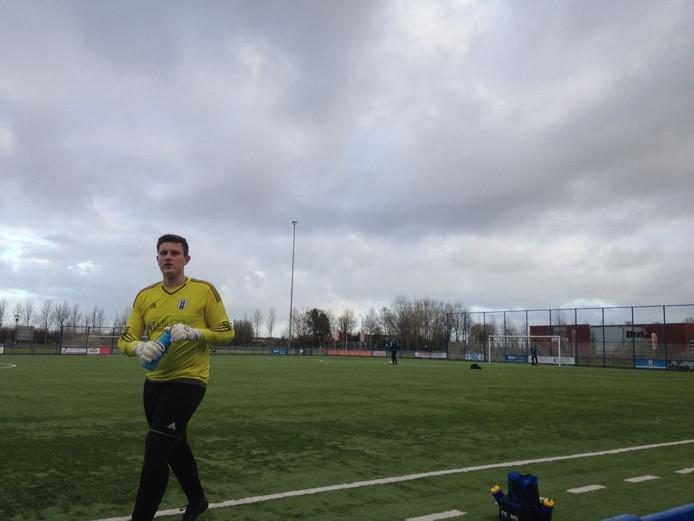 16-jarige keeper OSC Wout Hakvoort