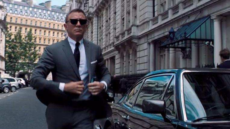 Daniel Craig als James Bond in 'No Time To Die' Beeld rv