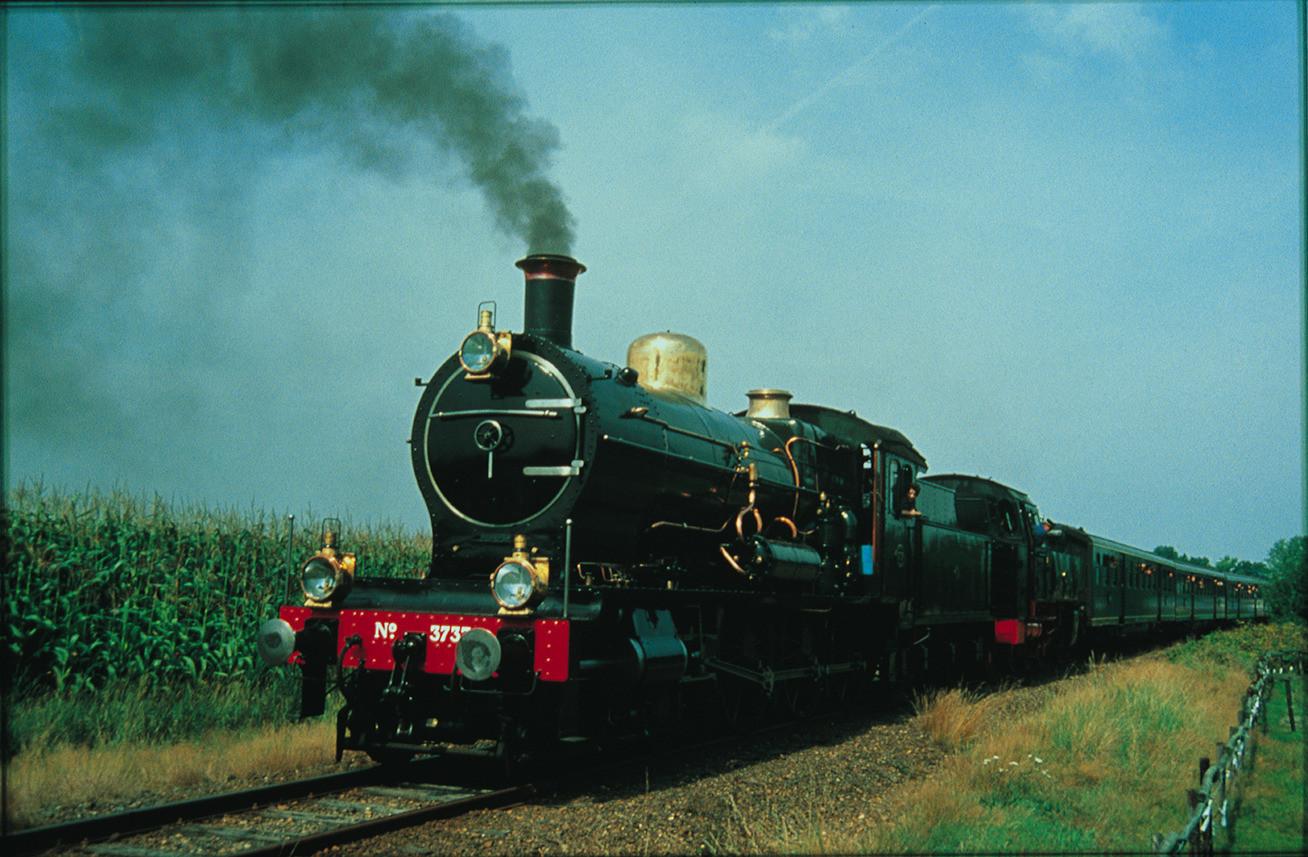 NS 3737, de laatste stoomlocomotief.