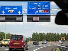 Steeds meer bekeuringen voor negeren van rode kruizen op snelweg