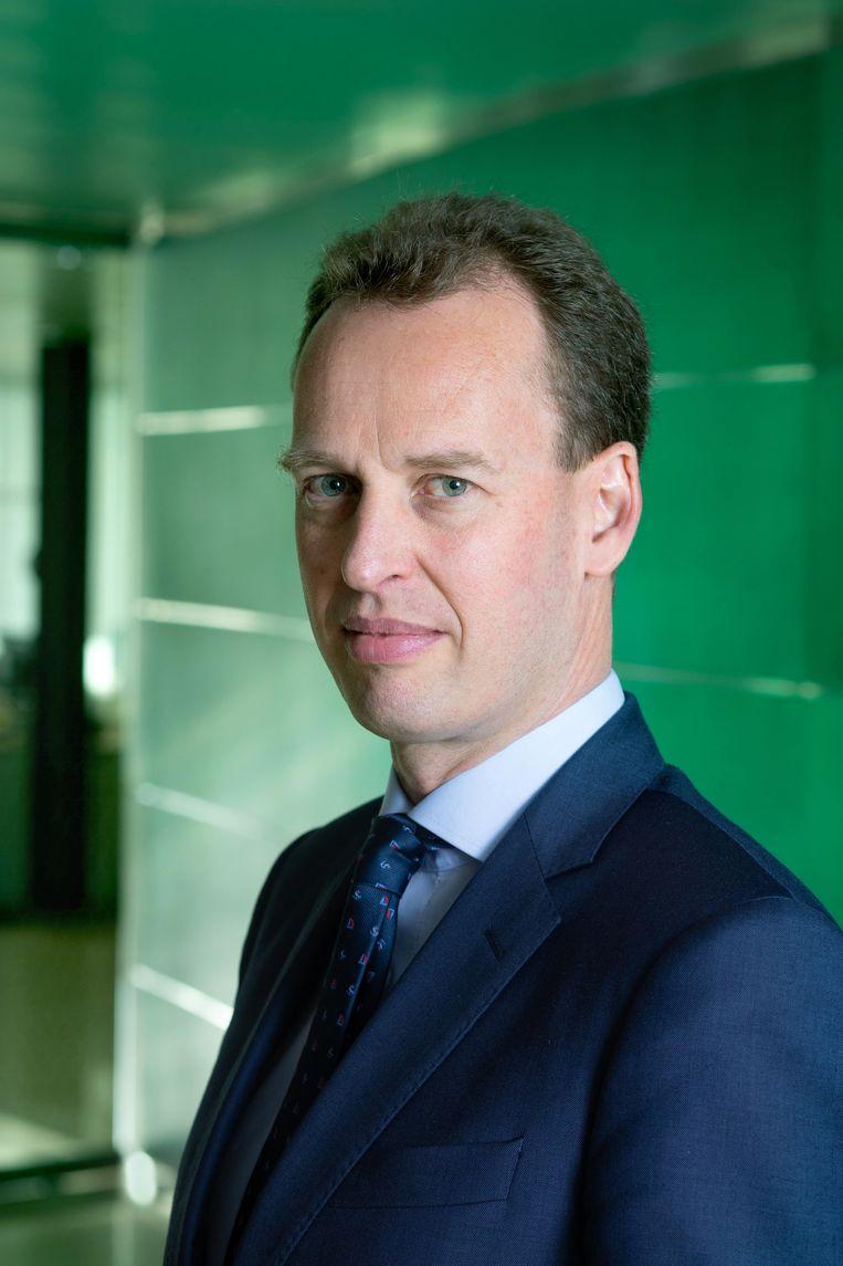 Als de regeringsleiders van de eurolanden het licht op groen zetten, treedt Frank Elderson in december toe tot de ECB-directie. Beeld Hollandse Hoogte / Maartje Geels