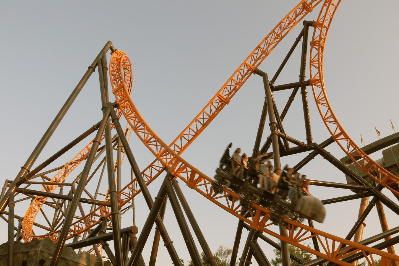 Fury, een rollercoaster boordevol spanning.