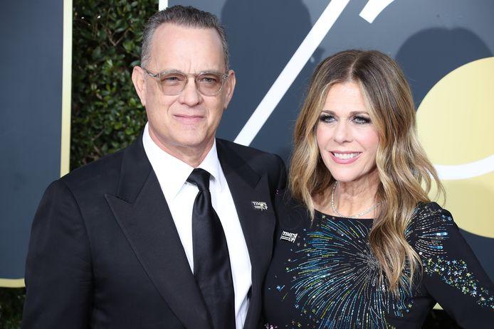 Tom Hanks en zijn vrouw Rita Wilson