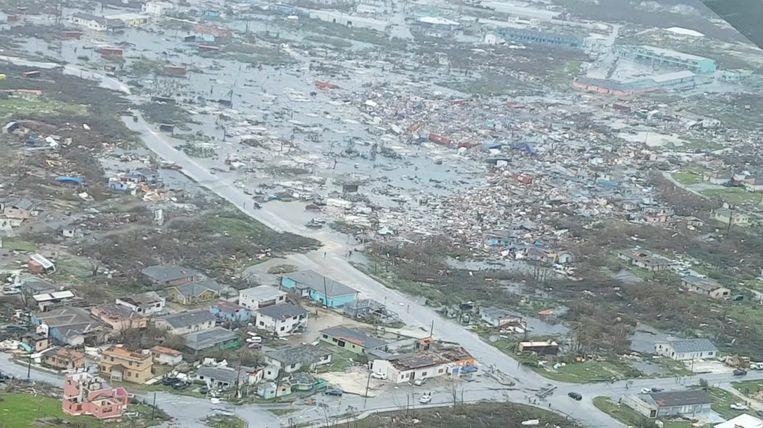 De verwoesting op de Abaco-eilanden. Beeld TERRAN KNOWLES/OUR NEWS BAHAMAS