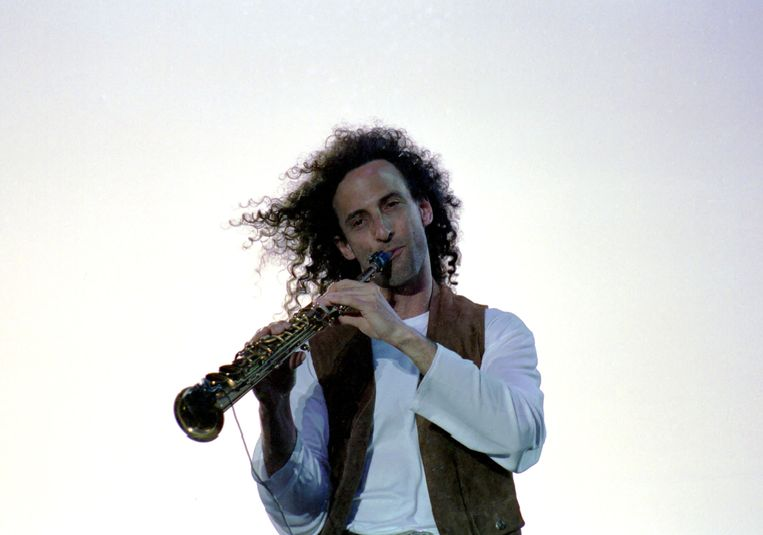 Kenny G in 1992. Beeld WireImage