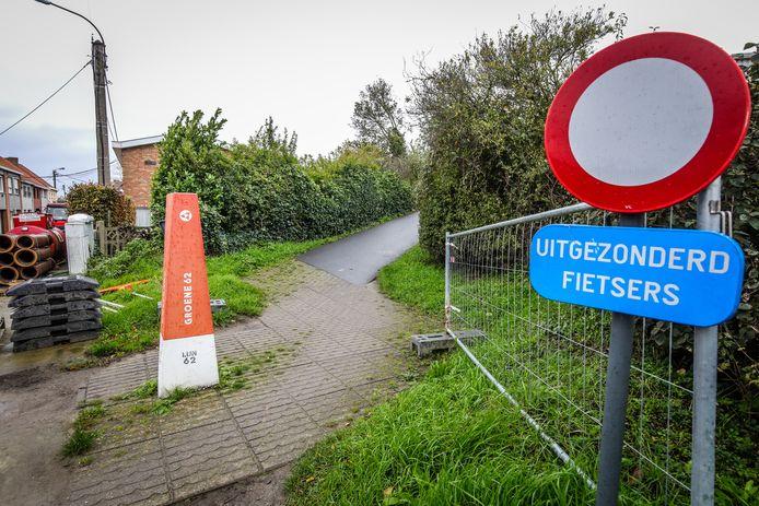 Illustratiebeeld. De Groene 62, hier in deelgemeente Snaaskerke.