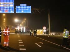 Derde dode te betreuren bij ongeluk op de A59 bij Rosmalen