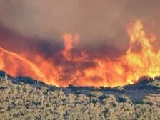 4000 hectares ravagés par un incendie en Californie