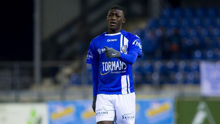 Aboubakary Koita maakte onder meer indruk in de Croky Cup. Beeld BELGA