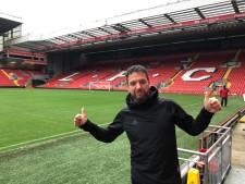 Keeperstrainer OJC ziet droom uitkomen in Liverpool: 'Alsof je in de Efteling bent, maar dan op voetbalgebied'