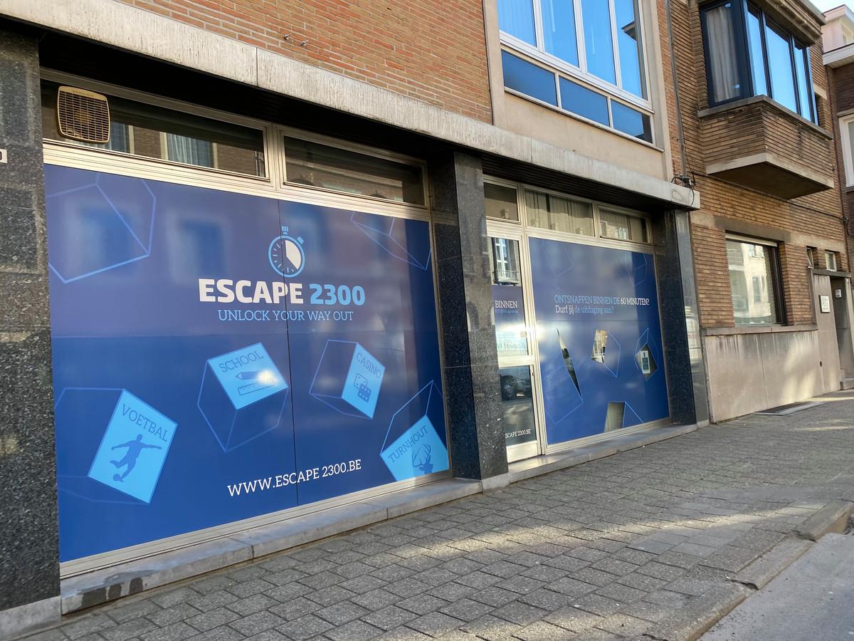 Het gebouw van Escape 2300 in de Begijnenstraat