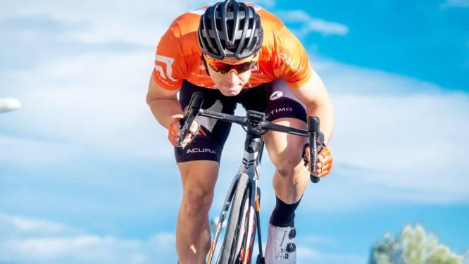 Arvid de Kleijn besluit wielerseizoen met vierde (!) val in Frankrijk: 'Te weinig gekoerst'