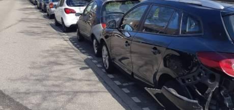 Beschonken automobilist ramt meerdere auto's in Etten-Leur