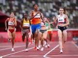 Sifan Hassan knalt met mooie eindsprint overtuigend naar finale 1500 meter