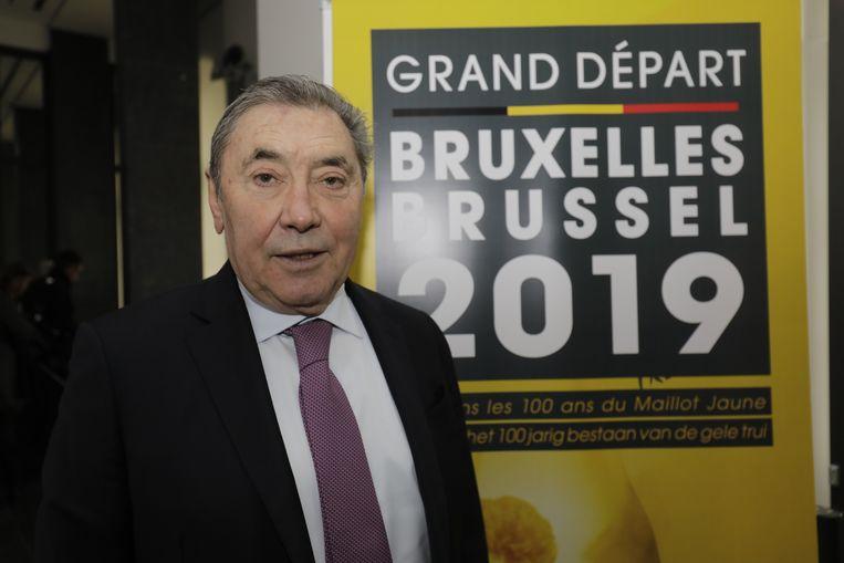 Eddy Merckx staat de komende weken centraal in de aanloop naar de Grand Départ.