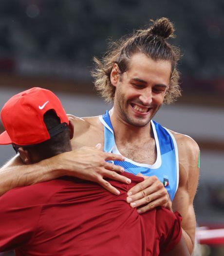 L'or olympique du saut en hauteur partagé entre l'Italien Tamberi et le Qatari Barshim