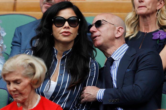 Jeff Bezos en zijn vriendin Lauren Sanchez.