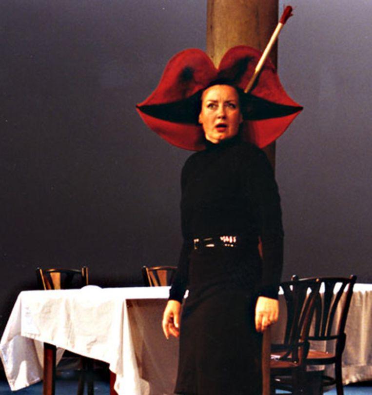 Trudy de Jong in Het syndroom van Stendhal (1989). Beeld Reyn van Koolwijk