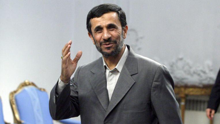 De Iraanse president Mahmoud Ahmadinejad. Foto EPA Beeld