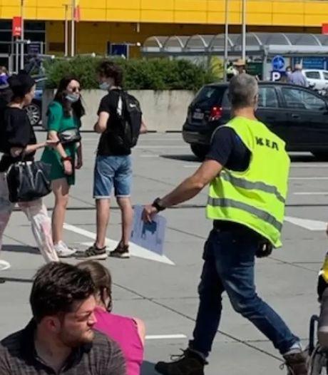 Le magasin Ikea de Wilrijk évacué