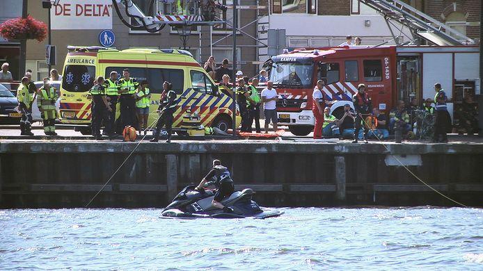 Een asielzoeker kwam afgelopen zomer in de IJssel bij Kampen om het leven. Een grote zoekactie mocht niet meer baten.