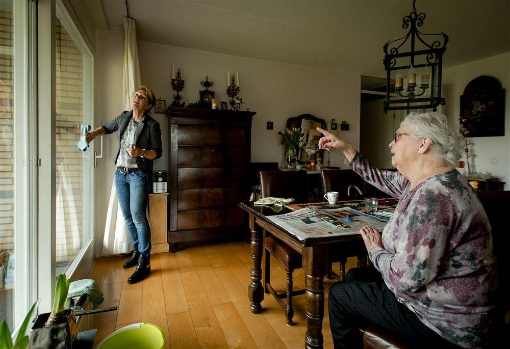 Huishoudelijke hulp, foto ter illustratie.