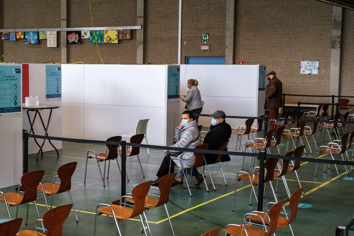 Vaccinatiecentrum Voorkempen in Provinciaal Vormingscentrum Malle