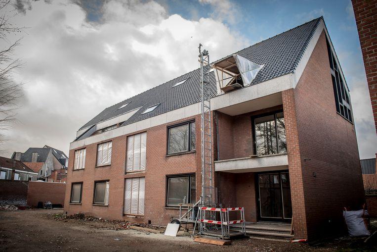 Het rusthuis van de paters Scheutisten wordt omgebouwd tot appartementen.