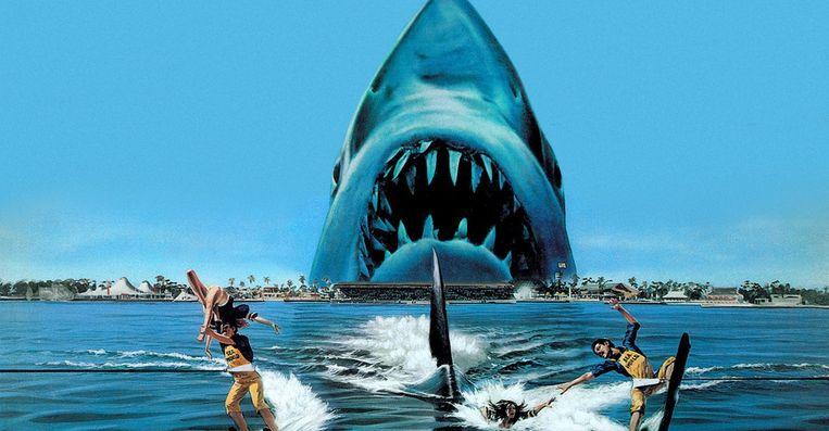'Jaws 3' Beeld Netflix
