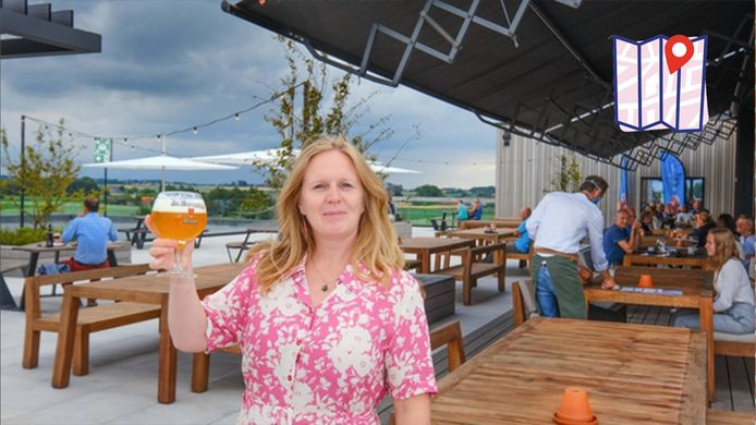 Bierkenner Kristel Logie op haar favoriete plek Bar Bernard.