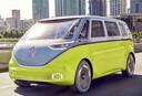 De productieversie van de ID.Buzz, een elektrisch 'eerbetoon' aan de originele Transporter, volgt in 2023